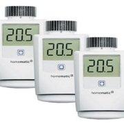 Homematic - Balance zwischen Wärmebedarf und Heizenergie an jedem Tag bei jedem Wetter
