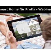 Quicktipp - Kostenlose ELV Webinare - Smart Home für Profis