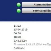 debmatic – neue Firmware 3.43.15.15 verfügbar – So einfach funktioniert der Firmware Update