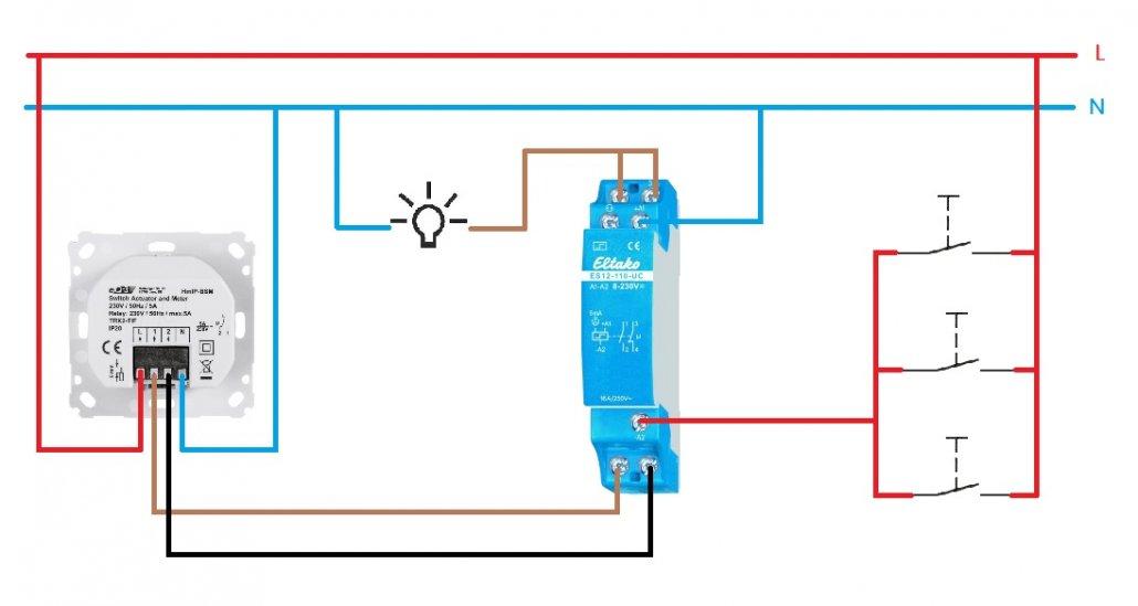 homematic ip stromsto schaltung stromsto relais treppenhauslicht smart machen