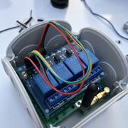 DIY Gartenbewässerung:  4-fach Aktor zur Ventilansteuerung von 12V oder 24V DC Magnetventilen z.B. Gardena, Hunter usw..