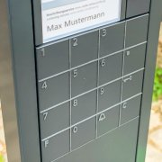 Türen und Tore öffnen und die Alarmanlage schalten mit dem Siedle Codeschloss (COM 611-02)