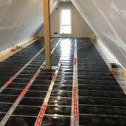 Installation einer elektrischen Fußboden-Infrarotheizung -  Auswahl und Verlegung - Teil 1