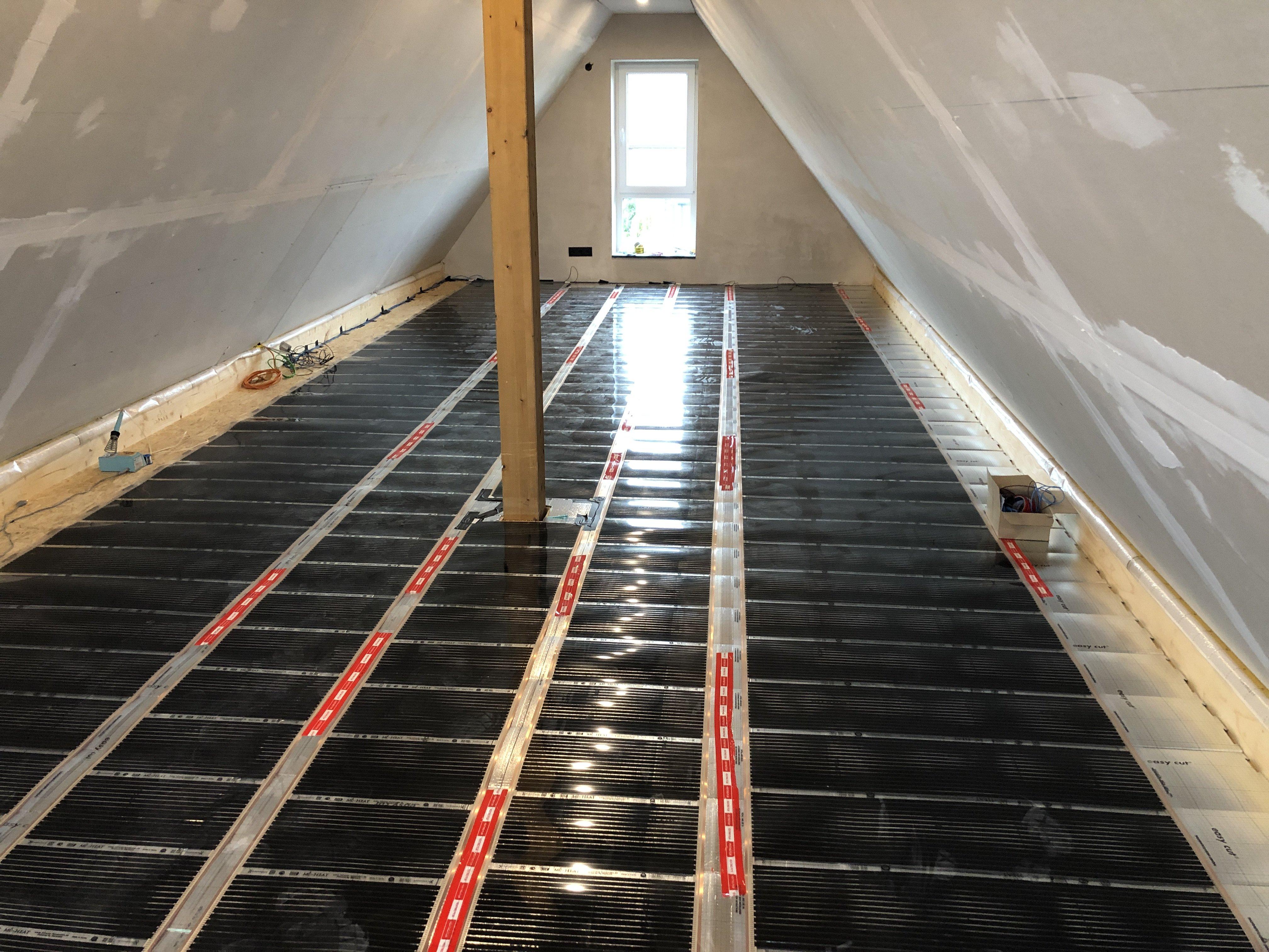 Infrarotheizung Fußboden