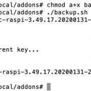 CCU/RaspberryMatic: Zyklisches, automatisches Backup auf Synology NAS