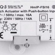 VORSCHAU - Neuigkeit - Homematic IP Funk-Schaltaktor (HmIP-FSI16) - Endlich mit Tasterschnittstelle