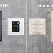 KNX Taster müssen nicht teuer sein und können eine Homematic Installation günstig aufwerten