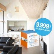 Die fertige Smart Home Homematic IP Wired Installation für unter 10 000 € inkl. Schaltschrank - ab sofort auf smartkram.de erhältlich