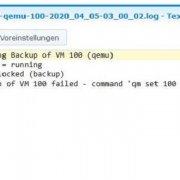 """Quicktipp - Problemlösung - Was tun wenn eine VM im Proxmox den Status """"locked"""" hat."""