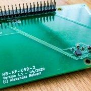 Vorstellung neue Platine von Alexander Reinert - HB-RF-USB-2