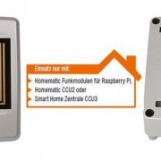 NEUHEIT - Homematic IP Funk-Regensensor (HmIP-SRD) - blitzschnelle Regenerkennung