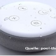 Amazon Echo Dot (3. Gen) Aussenbereich – Alexa wetterfest modifiziert für den Garten