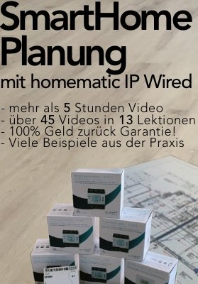 Smart Home Seminar Homematic IP wired