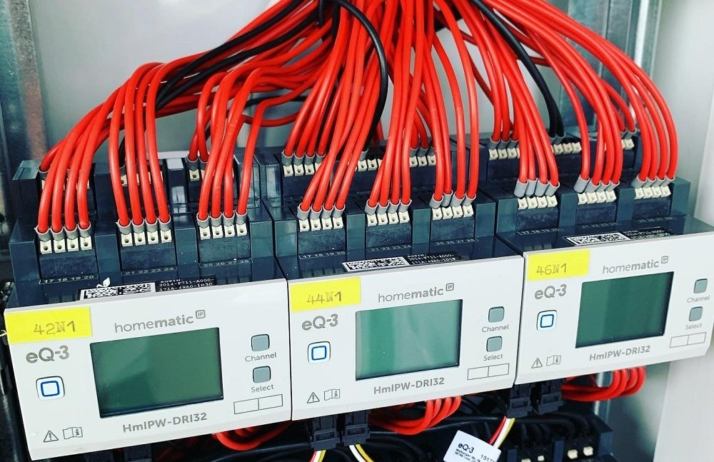 Homematic IP wired Schaltschrank Eingangsmodule