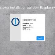io Broker auf dem Raspberry Pi installieren
