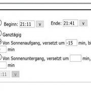 Raspberrymatic Neuigkeit - Zeitmodul mit erweiterter Astro-Funktion (Offset und Limit)