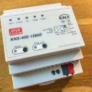 Smart Home mit KNX - Günstige Spannungsversorgung Mean Well KNX-40E-1280D / KNX-20E-640