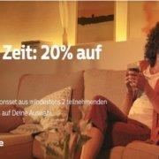 Quicktipp - Philips Hue - Sei schnell und spare 20% - bis zum 04.03.2021