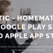 JSMATIC Testphase beendet – Neue HomeMatic App jetzt im Google Play Store und Apple App Store verfügbar