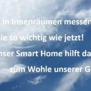 Smart Home und Gesundheit Teil 01 - Luftqualität in Innenräumen messen, gerade jetzt besonders wichtig