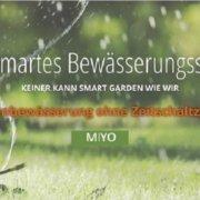 Smart Garden - MIYO Gartenbewässerung arbeitet verbrauchsorientiert anstatt mit Zeitschaltzyklen
