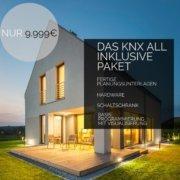 Bezahlbares Smart Home mit KNX mit direkter Anbindung an Google Home, Alexa und Apple Homekit für unter 10.000€  -  Die Revolution für werdende Eigenheim Besitzer