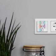 Homematic IP Wired Smart Home Wandtaster HmIPW-WRC6, 6-fach, mit LEDs - jetzt auch als Fertiggerät